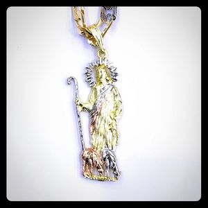 Other - Jesus Sheep herding pendant with chain